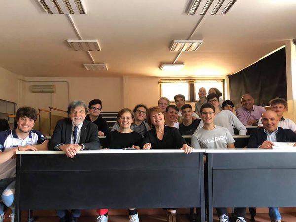 Incontro conclusivo del Progetto 2019 presso il Liceo Peano